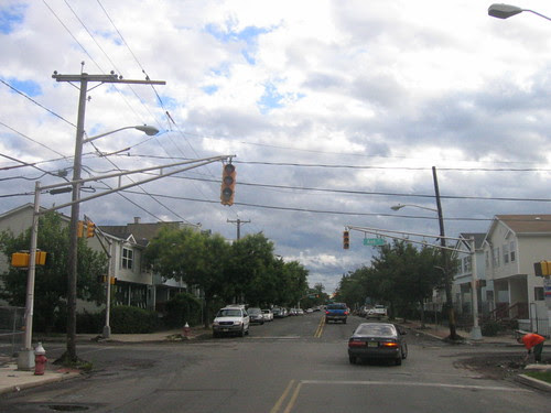 Street lights out, Pacific Ave., Jersey City