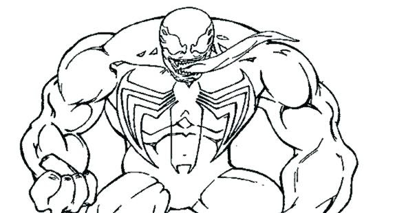 680 Top Coloring Pages Venom For Free