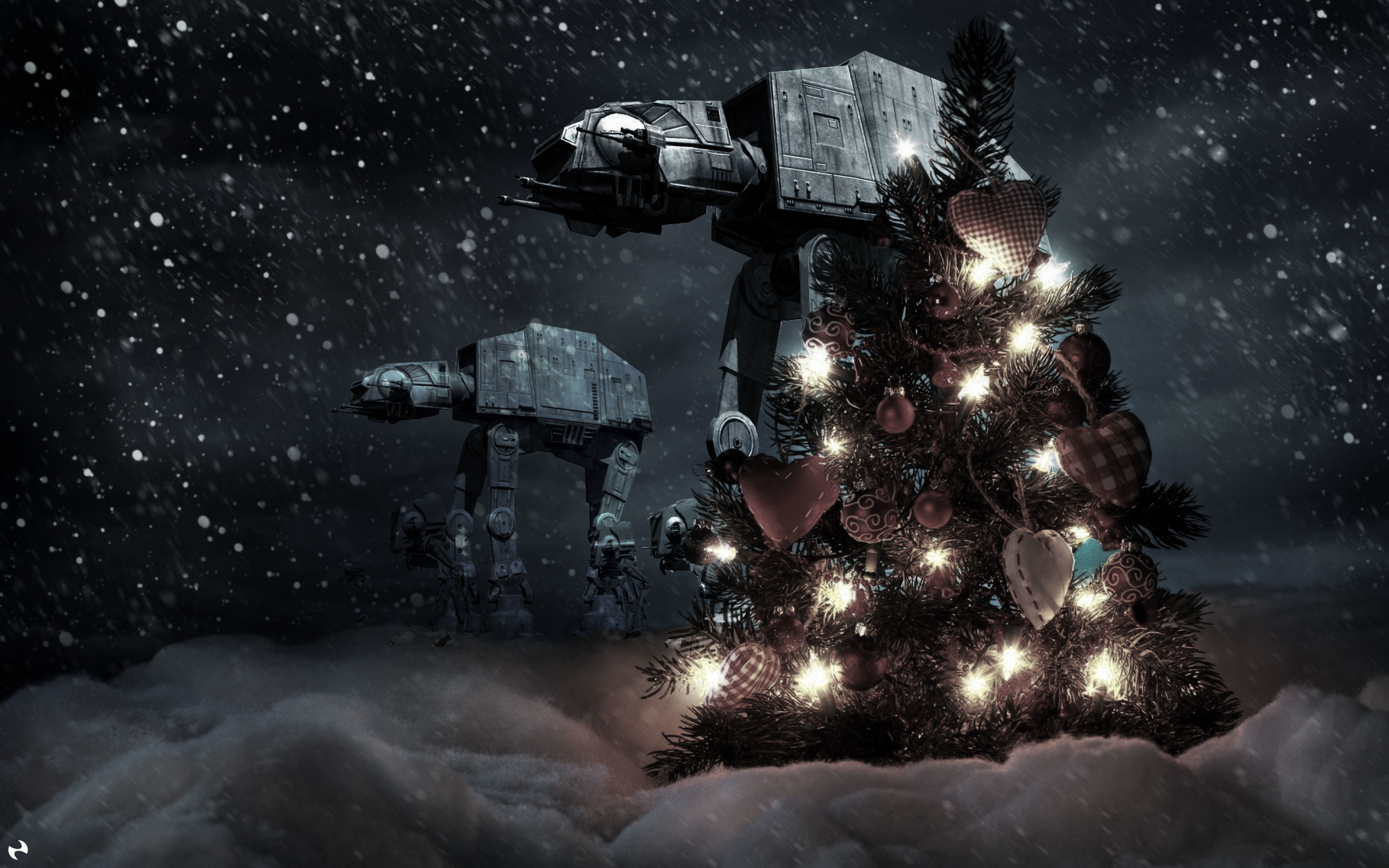 Star Wars Christmas Wallpaper 67 Images
