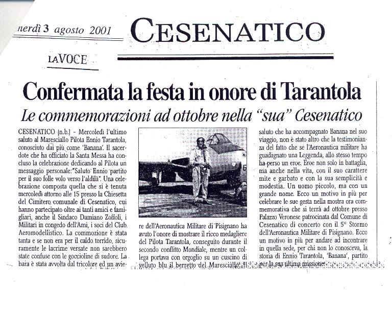 """Risultati immagini per MARESCIALLO ENNIO """"BANANA"""" TARANTOLA"""