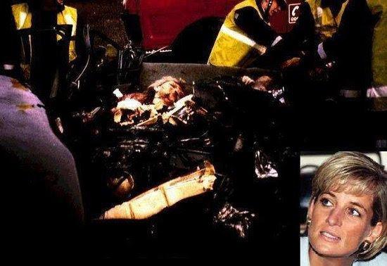 princess diana car crash pics. princess diana car crash