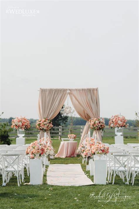 12 Gorgeous Wedding Ceremony Decor Ideas   Wedding