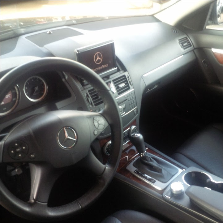 Super Clean 2009 Model Mercedes Benz C300 Toks For Sale! Mint Black! - Autos - Nigeria - 웹