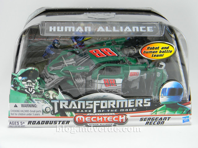 Transformers Roadbuster DotM Human Alliance - caja