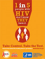 National HIV Testing Day Poster