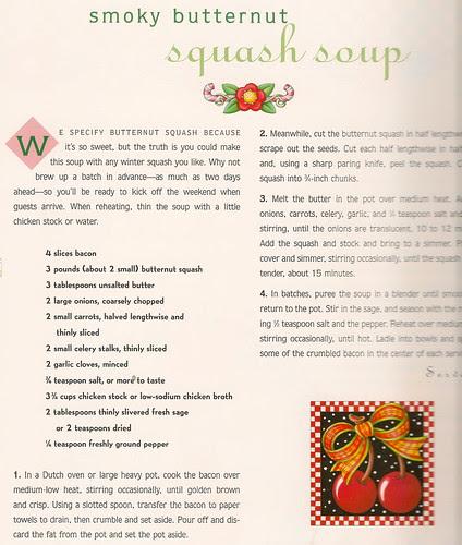 Smoky Butternut Squash Soup Recipe