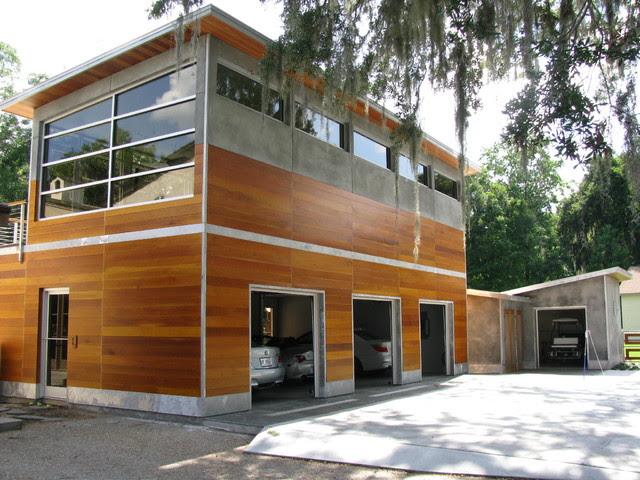 Savannah, GA with Guenzi-Vargas Studios - contemporary - garage ...