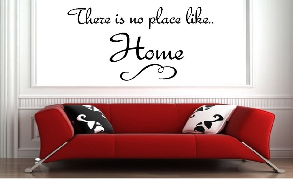 There Is No Place Like Home Qualitysticker