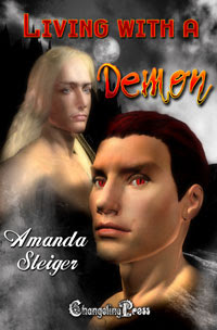 Living with a Demon by Amanda  Steiger