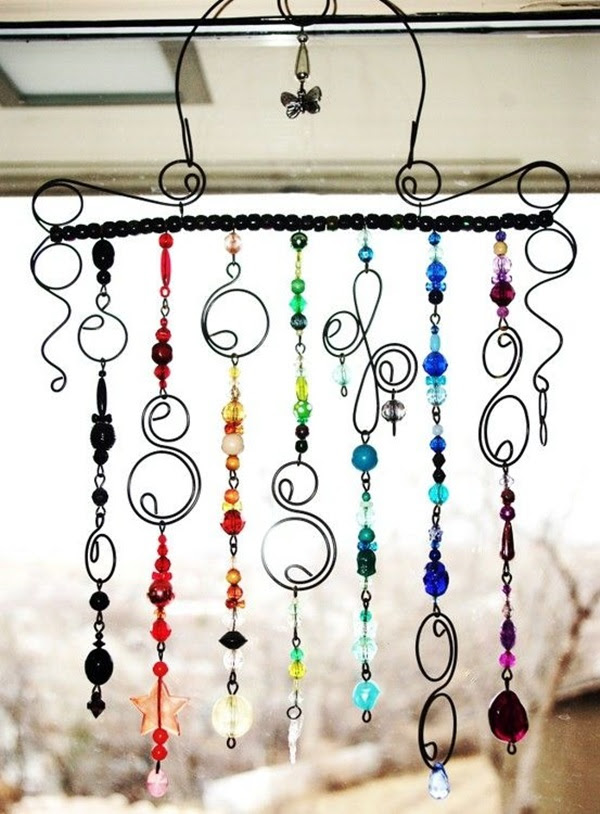 DIY Wind Chime Ideas to Try This Summer (37)