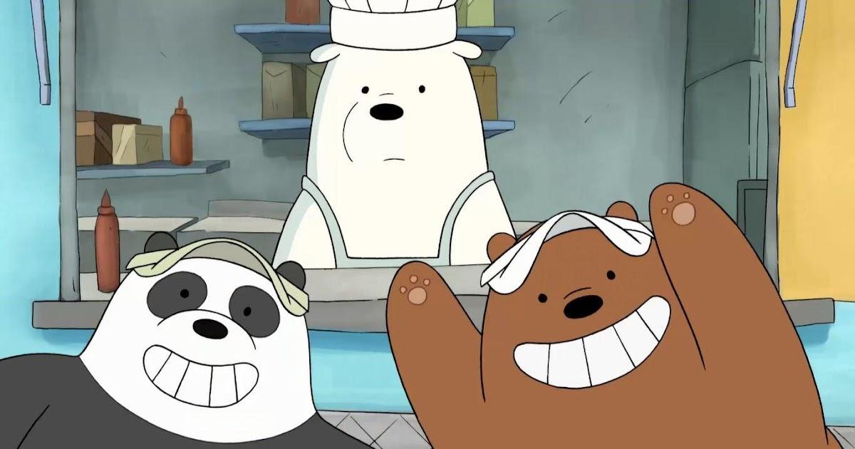We Bare Bears Wallpaper Hd Grizz - We Bare Bearss