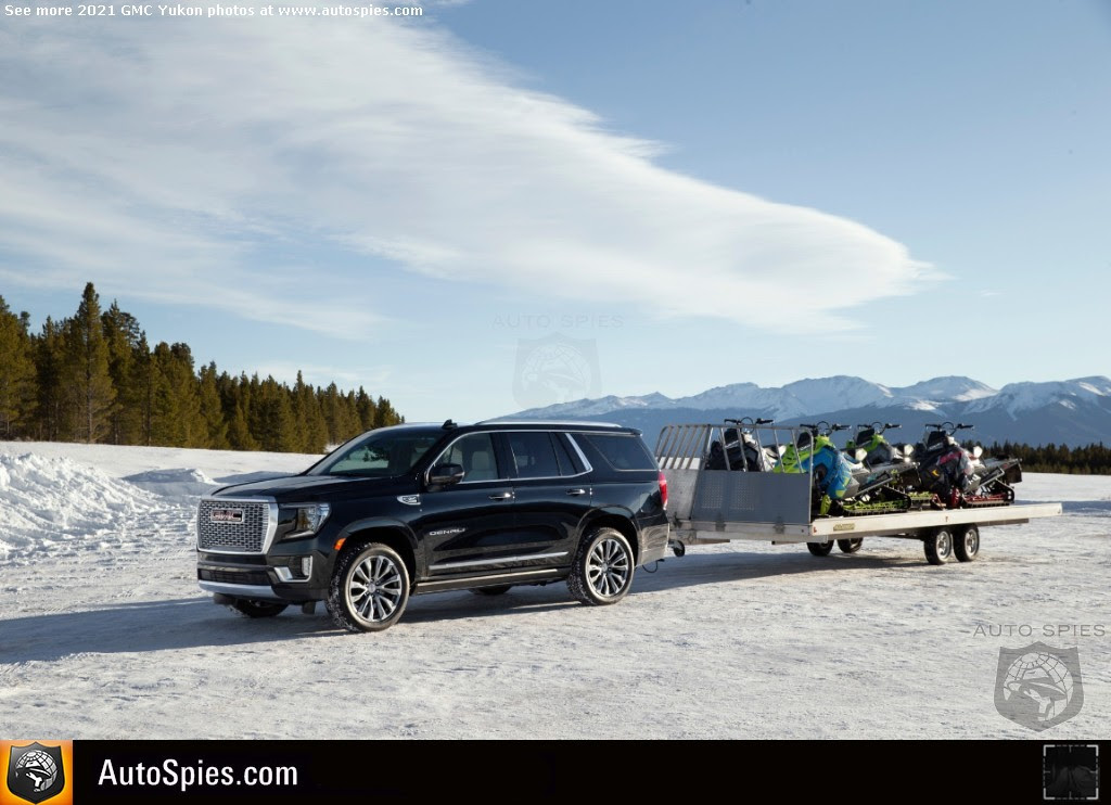 official pricing for the 2021 gmc yukon is announced