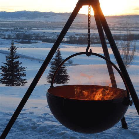 fire pit  cowboy cauldron  outdoor fire outdoor
