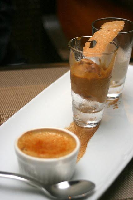 Sri Kaya creme brulee, gula melaka ice cream, and a stupendous soursop sorbet