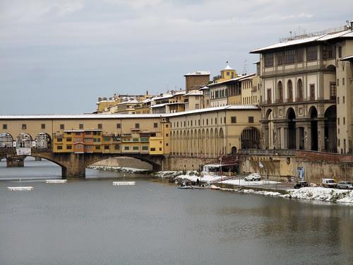 Il Ponte Vecchio, il golf e la neve...