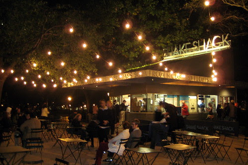 NYC - Madison Square Park - Shake Shack