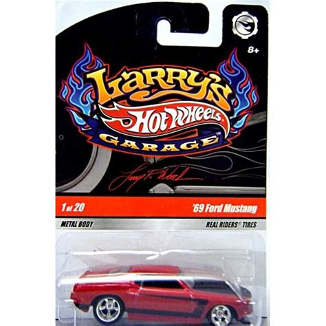 hot wheels larrys garage  ford mustang fastback