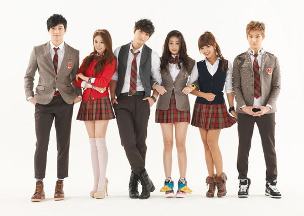 đồng phục trong phim the heirs