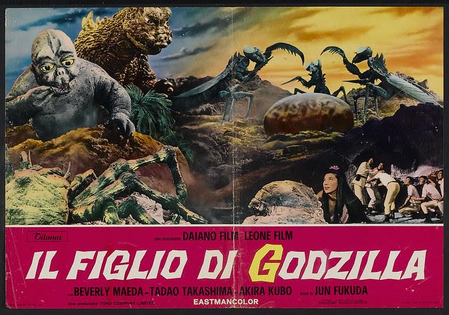 Son of Godzilla (Toho, 1967). Italian