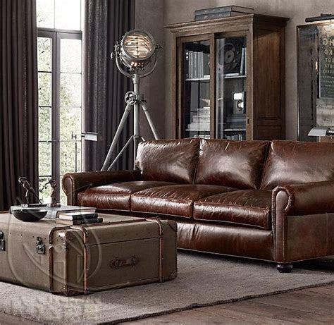 ideas  small leather sofa  pinterest
