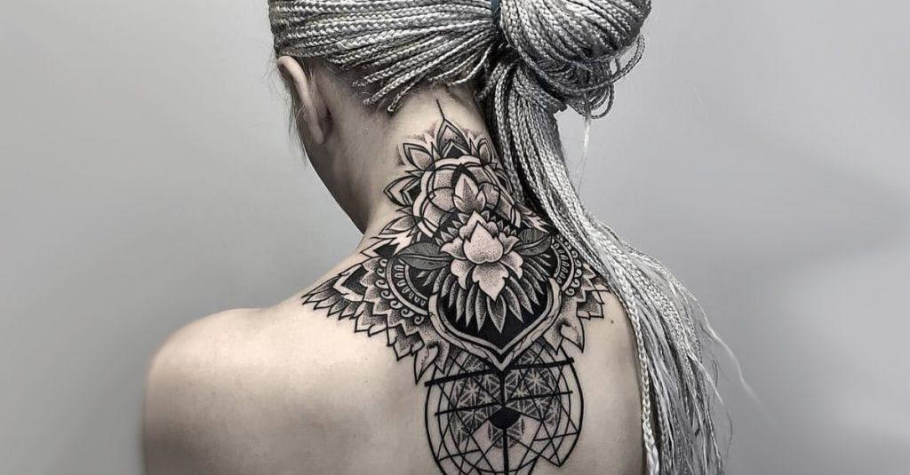 50 Ideas Originales Para Tatuajes En El Cuello Y Sus Significados