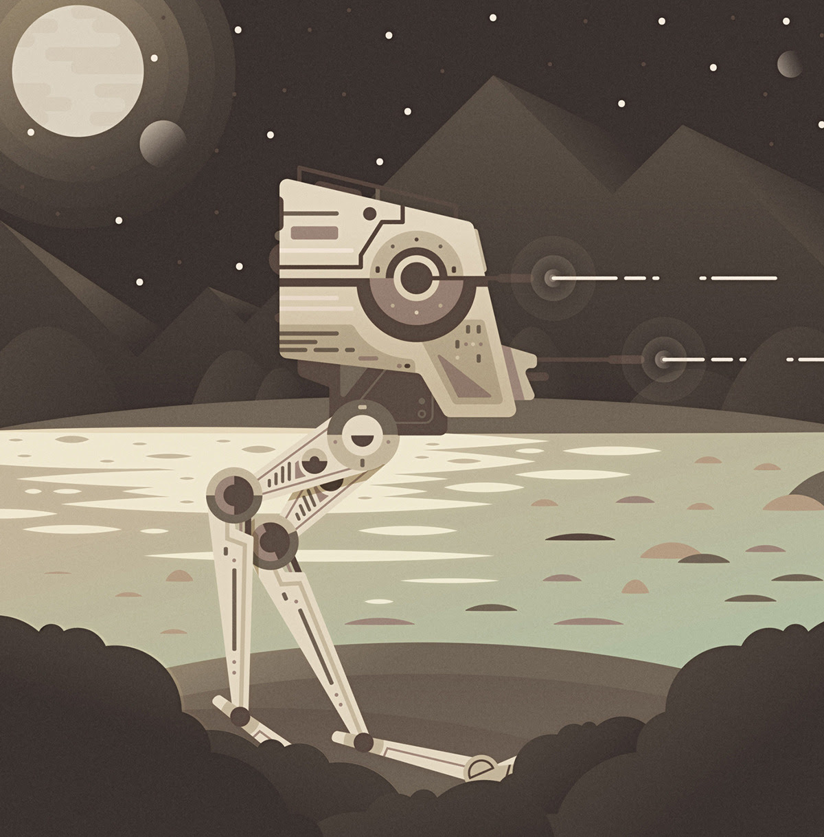 AT-ST by Adam Grason