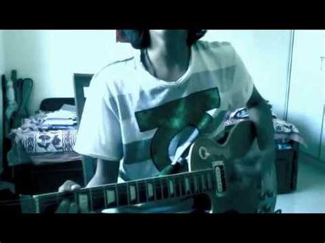 porcupine tree blackest eyes guitar cover youtube