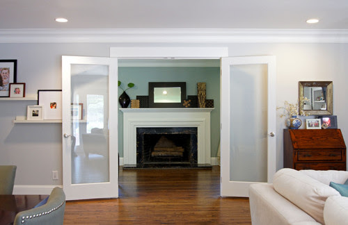 What is the name of that grey paint on the walls? - Houzz