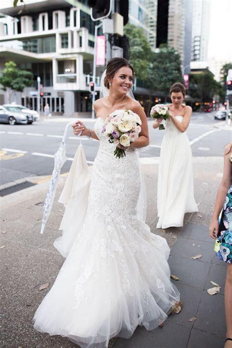 WLC Real Bride Samara wearing her Mori Lee Chanel wedding