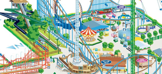 Plan Your Visit Cliffs Amusement Park