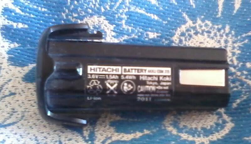 Аккумулятор для отвёртки Hitachi
