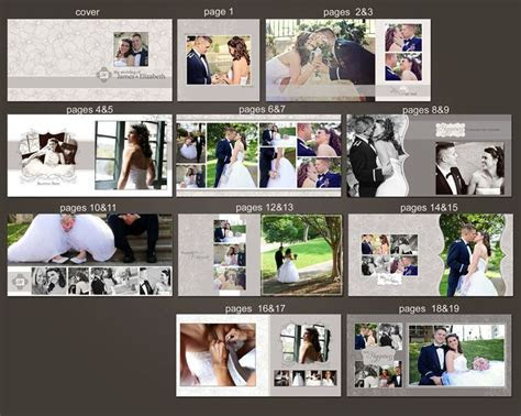 INSTANT DOWNLOAD   12x12 Wedding Album template   Classic