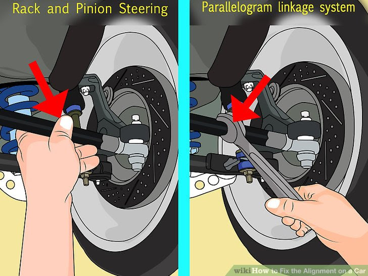 How To Fix The Alignment On A Car With Pictures Wikihow