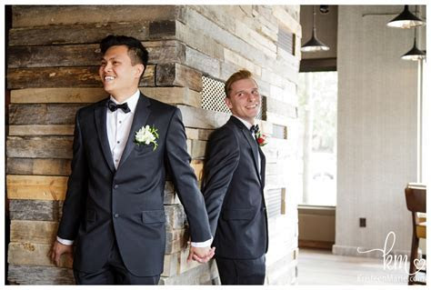 Kris and Nick   Same Sex Wedding at Omni Hotel Indianapolis