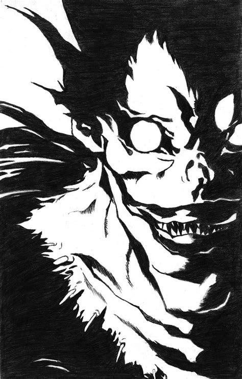 anime death note ryuk ver  luizmx  deviantart