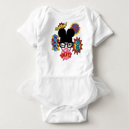 Splat (puffs) baby bodysuit