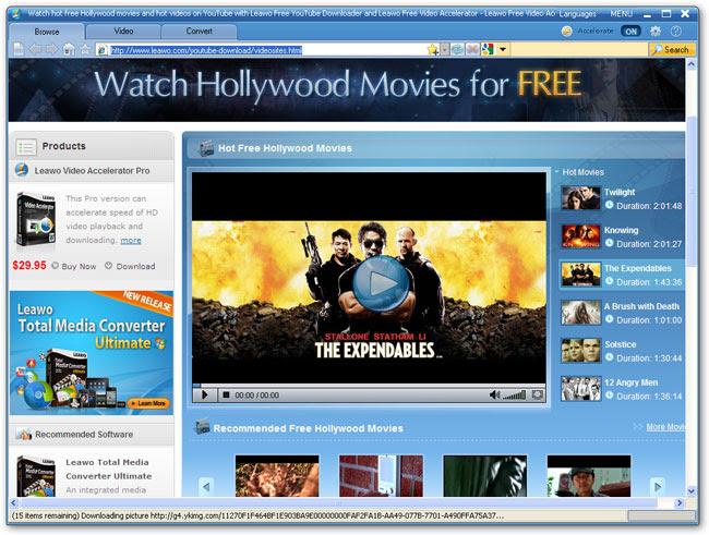 Leawo Free Video Accelerator