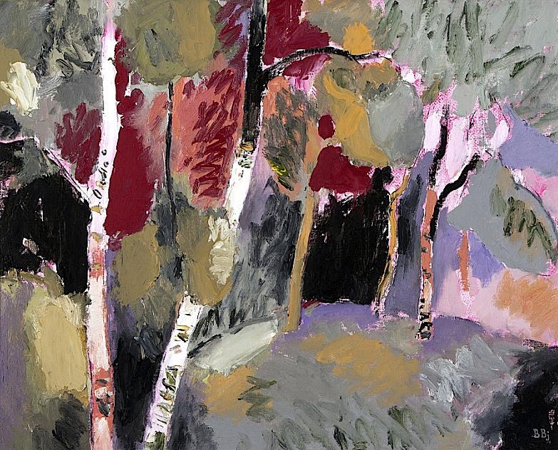 BENTE BJERREGAARD - Clearing with Birches