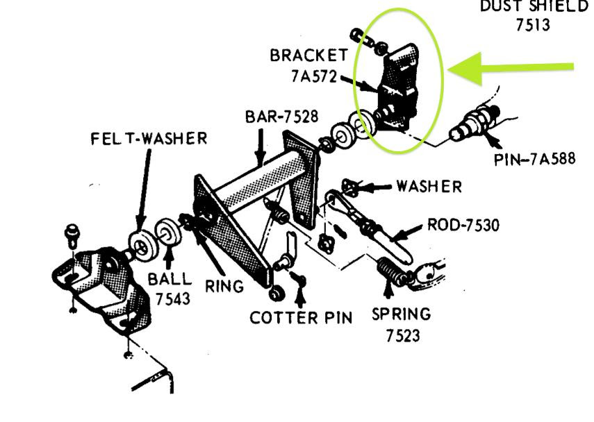 Clutch Equalizer Bar Bracket Missing Or Not The Fordification Com Forums