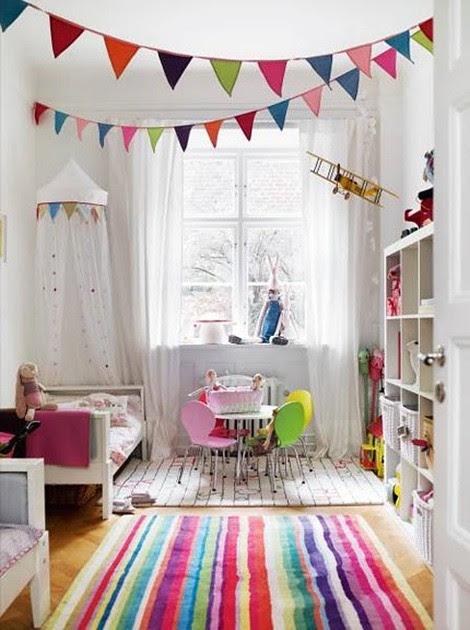 Rainbow Kids Room