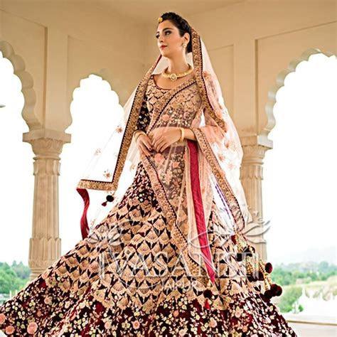 Where can I buy a nice wedding lehenga in Delhi for no