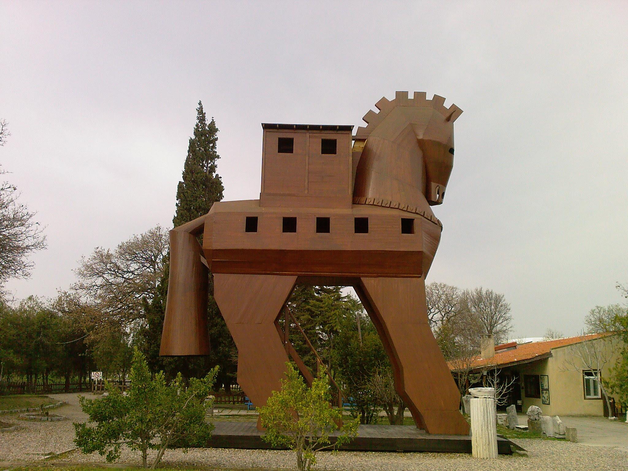Türkyenin Tarihi Yerleri Truva Atı