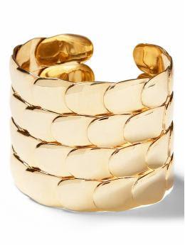 Women: Petal cuff - Gold