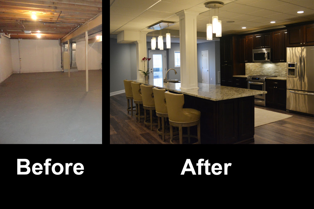 A%26E+Construction+Basement+Renovation+Before+After