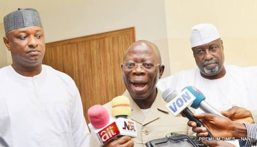 Oshiomhole To APC Reps: 'If You Want To Go To PDP, Go!'