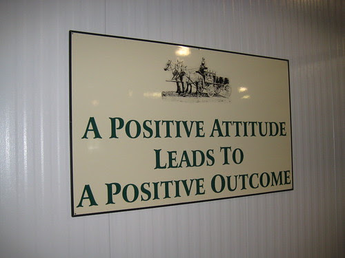 A Positive Attitude Leads to a Postive Outcome