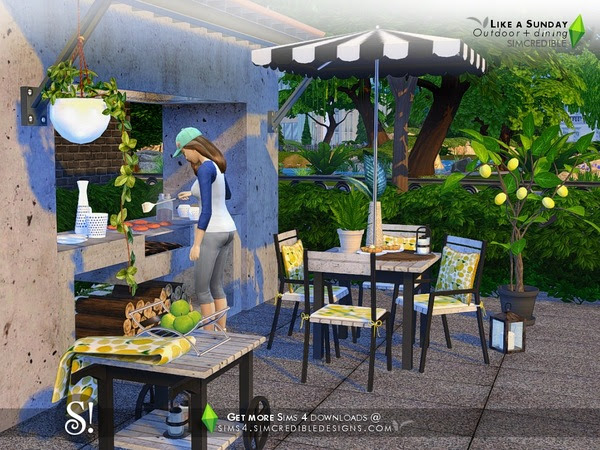 Sims 4 Outdoor downloads » Sims 4 Updates