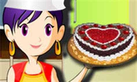 Sara's Cooking Class: Black Forest Cake   A Free Girl Game