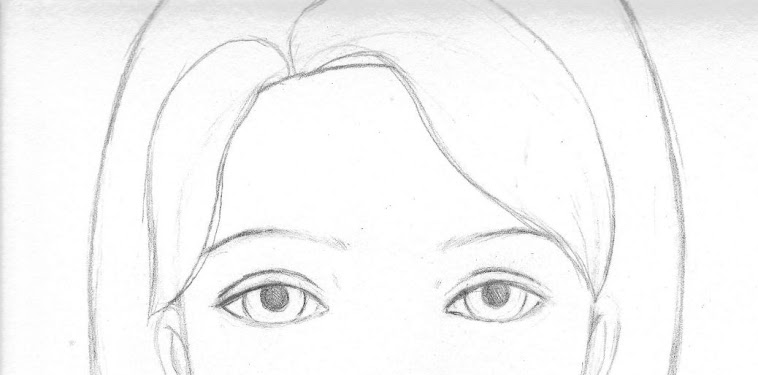 Paintings Simple Girl Face Drawing Easy