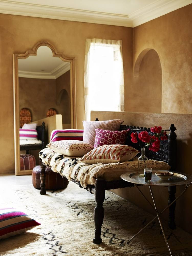 helles schlafzimmer gestalten  50 orientalische wohnideen